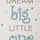 Thumbnail: ANCHOR CROSS STITCH KIT - Best Friends Collection - Dream Big Boy - AK35