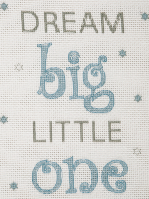 ANCHOR CROSS STITCH KIT - Best Friends Collection - Dream Big Boy - AK35