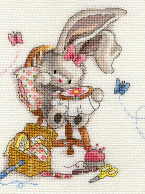 Cross Stitch Kit - Sewn with Love