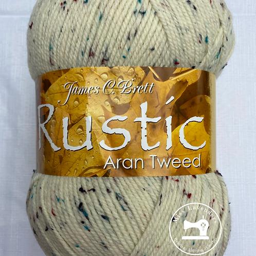 James C Brett Rustic Aran with Wool 400g - DAT9 Cream