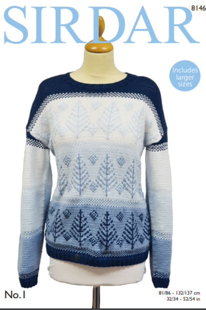 Sirdar Winter Sweater