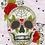 Thumbnail: Cross Stitch Kit - Sugar Skull