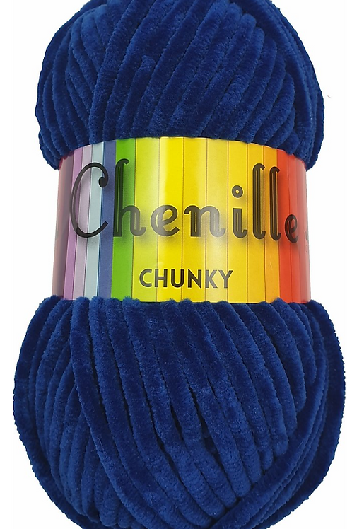 Cygnet Chenille Chunky Midnight Blue