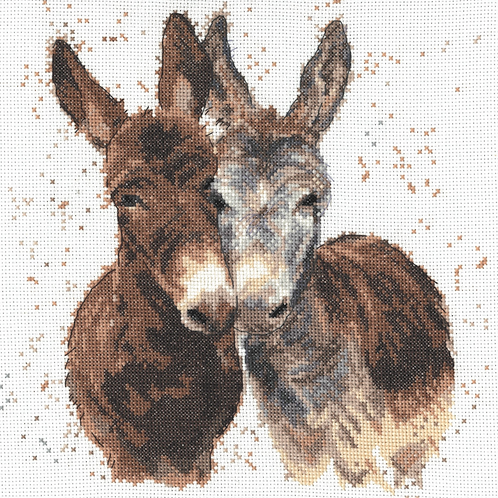 Bree Merryn Counted Cross Stitch Kit - Jack and Diane - BMCS14
