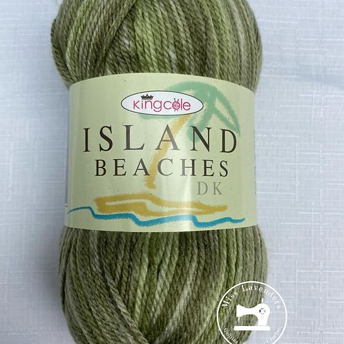 King Cole Island Beaches DK (100g) - Palm Green 4530