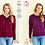 Thumbnail: King Cole Ladies Cardigan and Sweater - 4PLY - Knitting Pattern - 5473