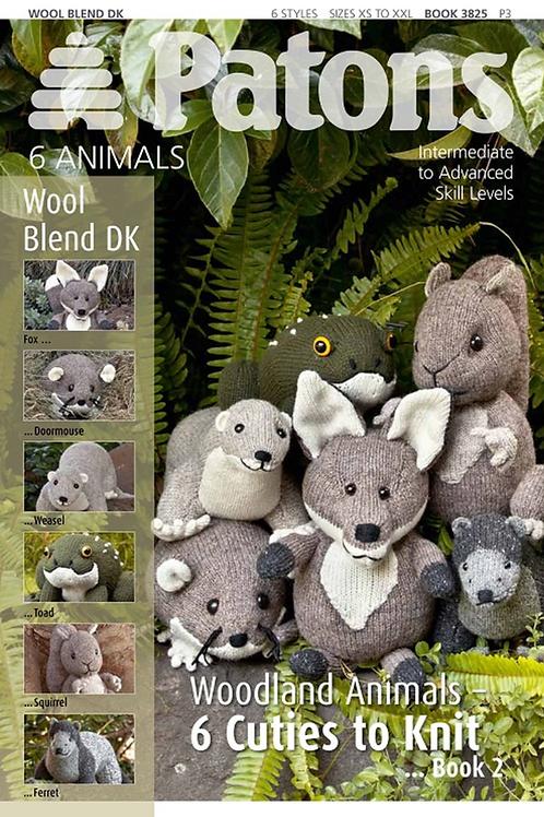 Patons 3825 Woodland Animals Book 2