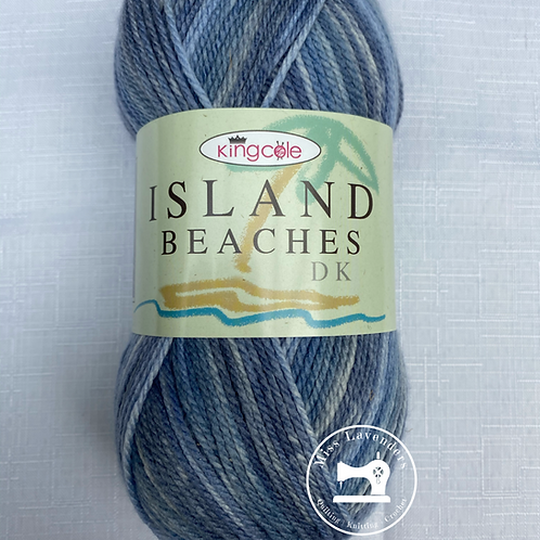 King Cole Island Beaches DK (100g) - Ocean Blue 4529