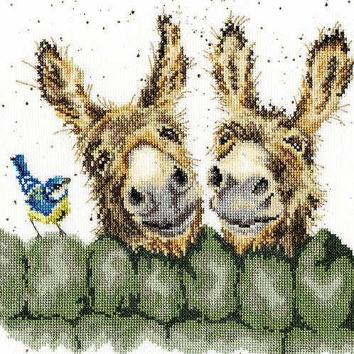 Cross Stitch Kit - Hee Haw
