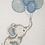 Thumbnail: ANCHOR CROSS STITCH KIT - Best Friends Collection - Sweet Balloon Boy - AK31