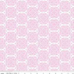 Riley Blake Fruitful Pleasures Damask Pink Fabric