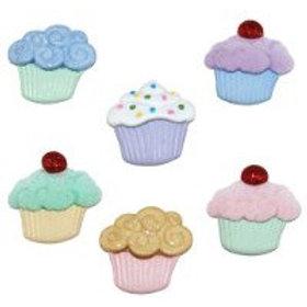 Dress it up Buttons - Sweet Treats Childrens/Craft Buttons