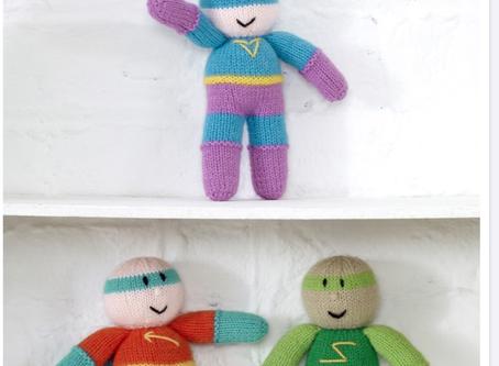 Free Super Hero Knitting Pattern