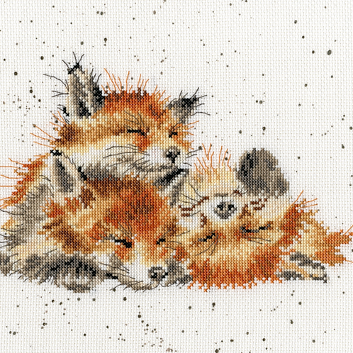Cross Stitch Kit - Afternoon Nap