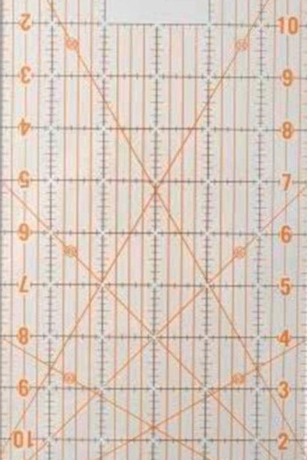 DAFA Universal Quilting Ruler - scale 6 x 12 inch Grid