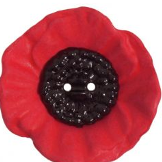 Poppy Buttons 28mm