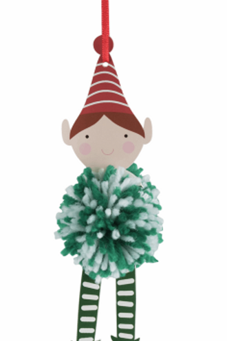 Trimits Pom Pom Decoration Kit: Christmas: Elf