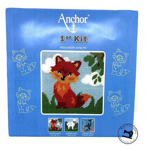 Friendly Fox Tapestry Kit