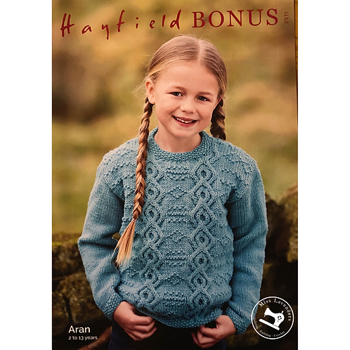 Sirdar/Hayfield Childrens - Aran Sweater -2511