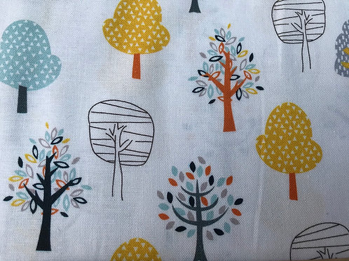 Woodland Friends - Trees Fabric