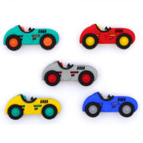 Speed Racer Novelty Buttons by Dress it up
