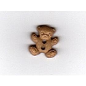 15mm Beige Teddy Button