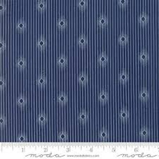 Moda Chrystal Lake Indigo & Diamonds