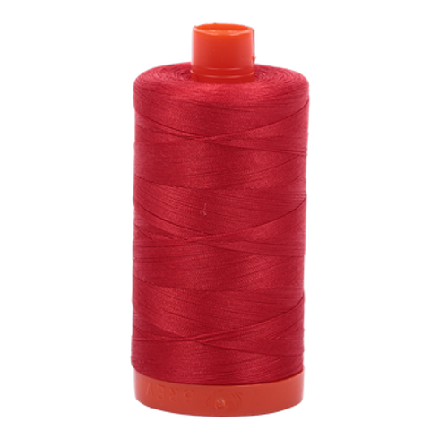 Aurifil 50/2 Lobster Red Thread - 2265