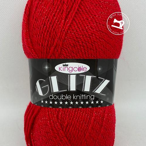 King Cole Glitz DK Cherry Red 16481