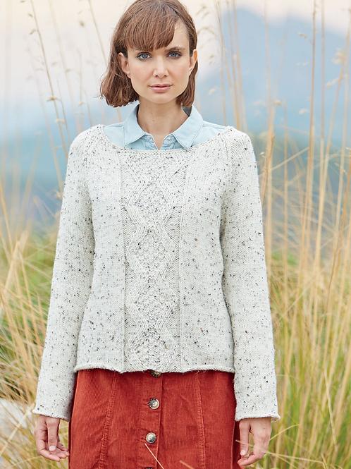 Sirdar Hayfield Adults Sweater Aran Pattern - 8230
