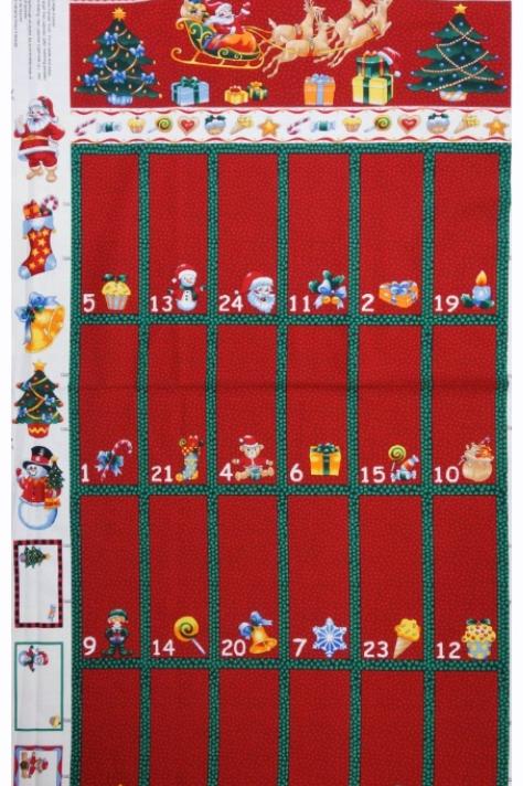 Nutex Advent Calendar Red