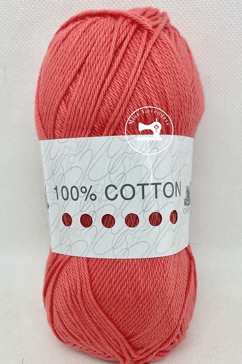 Cygnet 100% Cotton Double Knit  100g - Pepper 6206