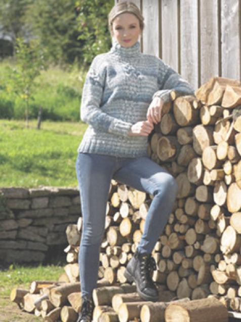 James C Brett - Adult Sweater - Chunky JB713