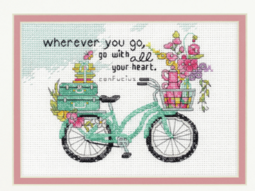 Counted Cross Stitch Kit by Dimensions: Wherever you go