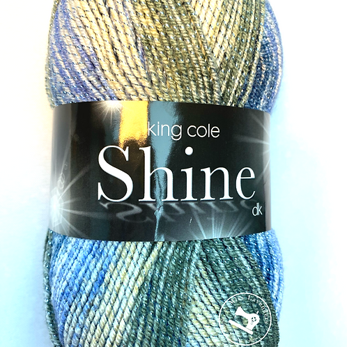 King Cole Shine Double Knit  - Adriatic 1887