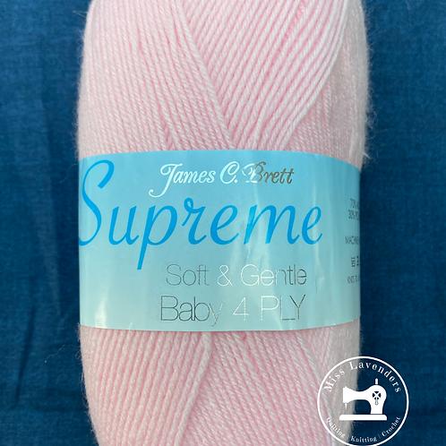 James C Brett Baby Supreme 4ply Light Pink SY15