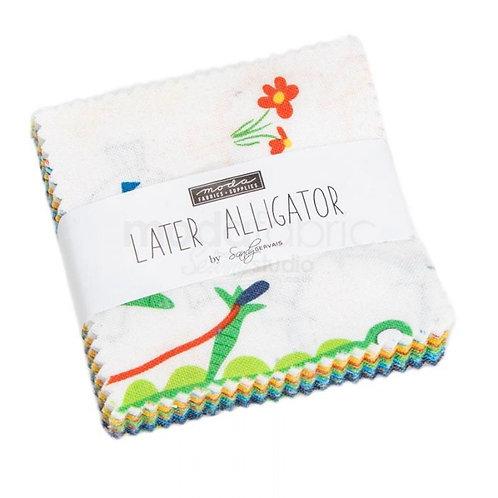Later Alligator - Mini Charm 2.5 inch square