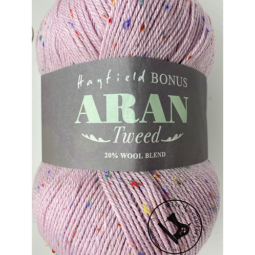 Sirdar Hayfield Bonus Aran Tweed 400g - Crabapple 0681
