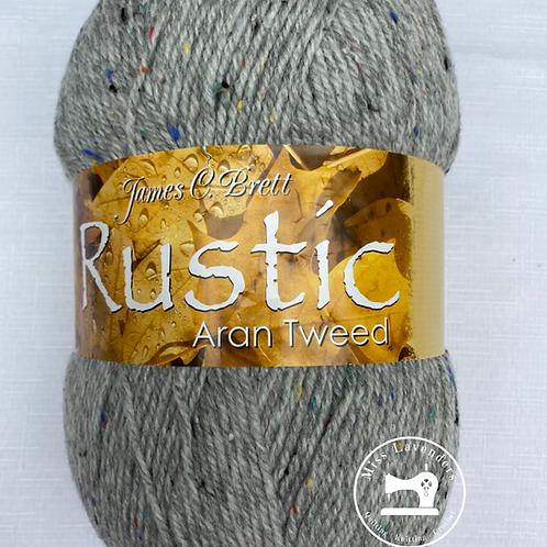 James C Brett Rustic Aran with Wool 400g - DAT38 Grey
