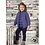 Thumbnail: King Cole Childrens - Aran Cardigan and Sweater - 5061
