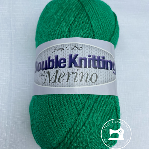 James C Brett  DK with Merino - Emerald Green  DM22