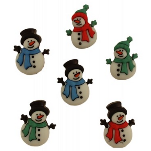 Buttons Galore - Jolly Snowmen 4792 - Childrens/Craft Buttons