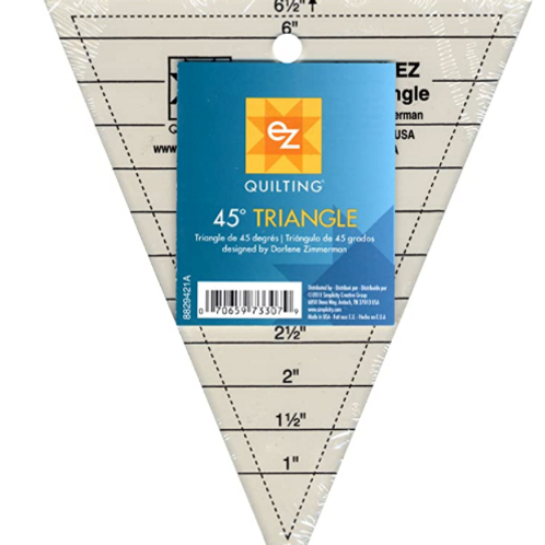 EZ Quilting 8829421 -  45-Degree Triangle Quilting Ruler