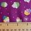 Thumbnail: Makower Daydream Lilac Cupcakes  2277