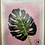 Thumbnail: Punch Needle Complete Kit - Cheese Plant Leaf