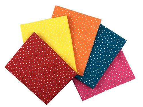 Bright Spots - Cotton Fat Quarters 5 Pack