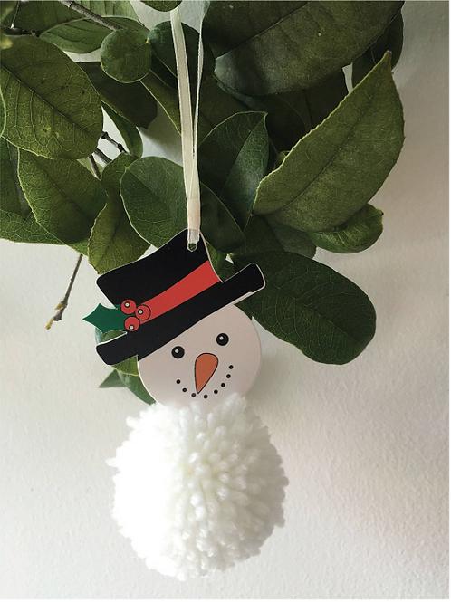 Trimits Pom Pom Kit - Snowman