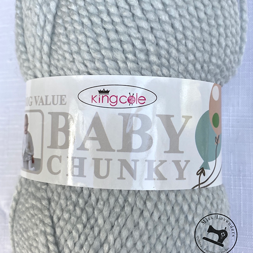King Cole Big Value Baby Chunky Soft Silver