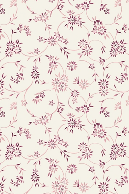 Liberty Winterbourne House - Lois Daisy Fabric - Pink 04775739/A