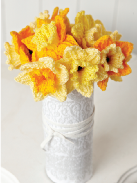 Knitted Daffodils